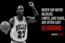 Diy Frame Michael Jordan Succeed Quotes Motivational