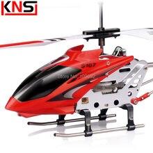 Livraison gratuite Origine Syma S107G S107 3.5CH extérieure Mini Copter RC drone Hélicoptère Radio télécommande toys Avec Gyro vol