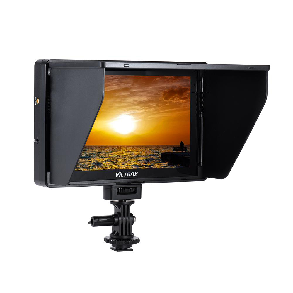 Viltrox DC-70HD 4K Clip-on 7'' 1920x1200 IPS HD LCD Camera Video Monitor Display HDMI AV Input for Canon Nikon DSLR BMPCC 5DIV