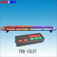 TBD 13L57 High quality super bright 1.5M LED lightbar, engineering/emergency/police light,DC12V/24V Car Roof Flash Strobe light