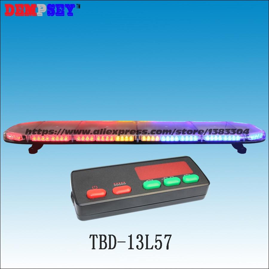 Engineering/notfall/polizei Licht Dc12v/24 V Auto Dach Blitzlicht Licht Moderate Kosten Tbd-13l57 Hohe Qualität Super Helle 1,5 Mt Led Lichtbalken
