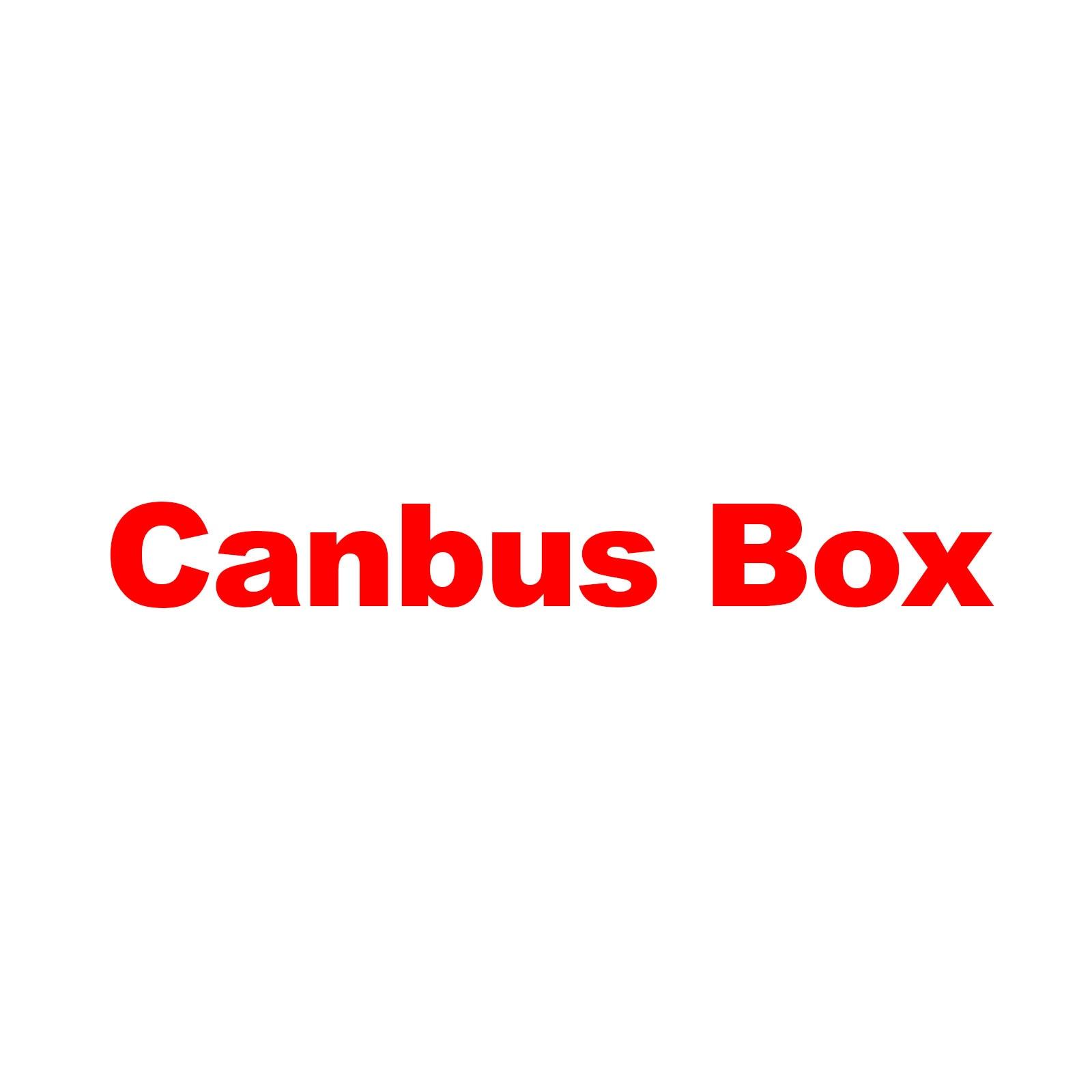 Kotak Canbus opsional untuk Pelanggan yang membutuhkan item tidak menjual secara terpisah