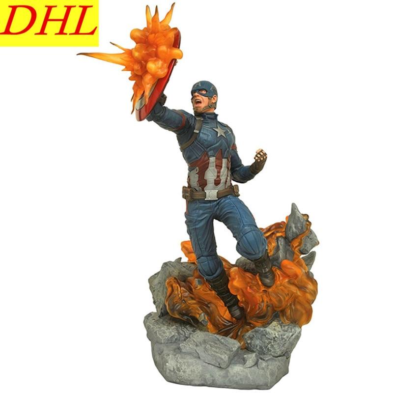 Avengers:Infinity War Captain America Super Soldier Steve Rogers PVC Action Figure Superhero Collectible Model Toy L2100
