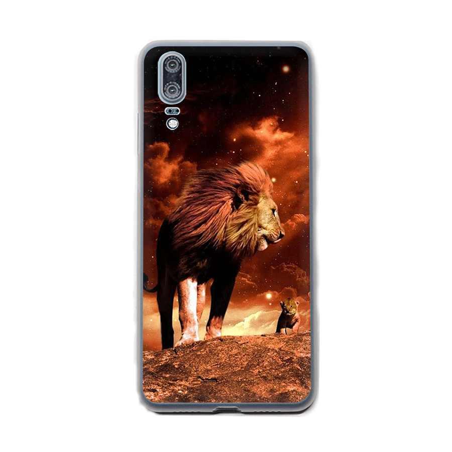 Desxz Lion King Phone Case For Huawei Y5 Y6 Y7 Y9 2018 Nova 2i 3 3i  Mate 10 20 Pro Lite Cover Protection