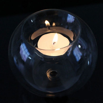 Bougeoir rond en verre creux de style européen bougeoir de mariage chandelier en cristal fin transparent Bougeoirs Cocooning.net