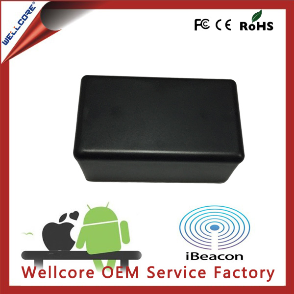 Freeshipping ! 2016 New Design for Android Uuid Programmable Bluetooth Beacon with 2pcs CR2477 battery inside