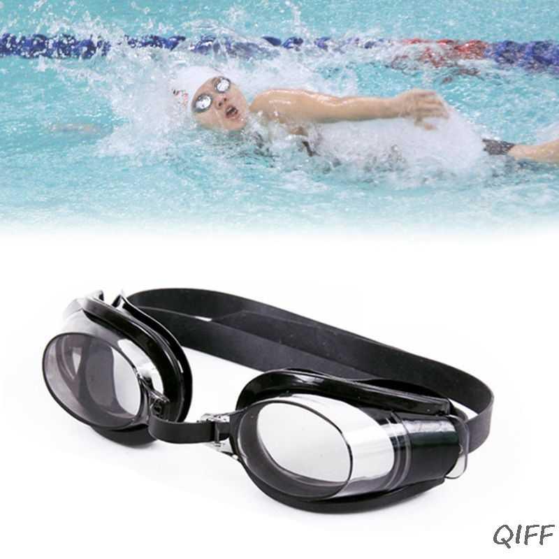 Vrouwen Mannen Adult Waterdicht Anti Fog Zwembril Set UV Bescherming Breed View Verstelbare Bril Met Neus Clip Ear Plug