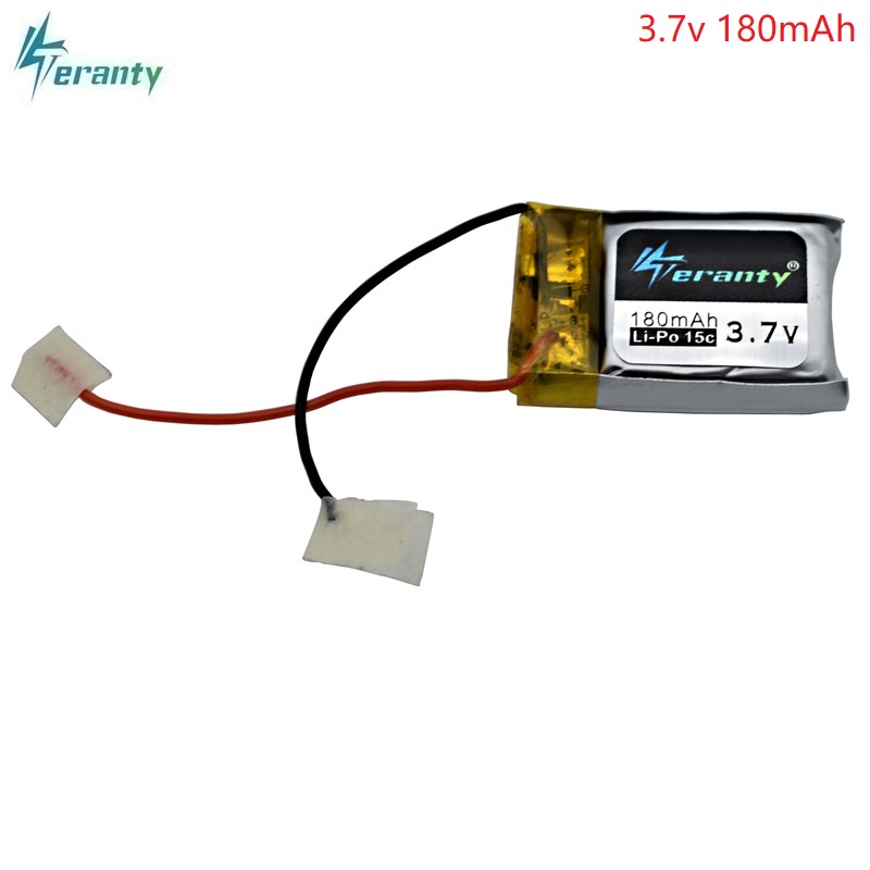 3.7V 180mAh Lipo battery for Syma S105 S107 S107G S109 S107-19 for Skytech M3 3.7V 180mAh 1s Li-Po Battery 3.7V Helicopter Part lcd kenwood tk3118