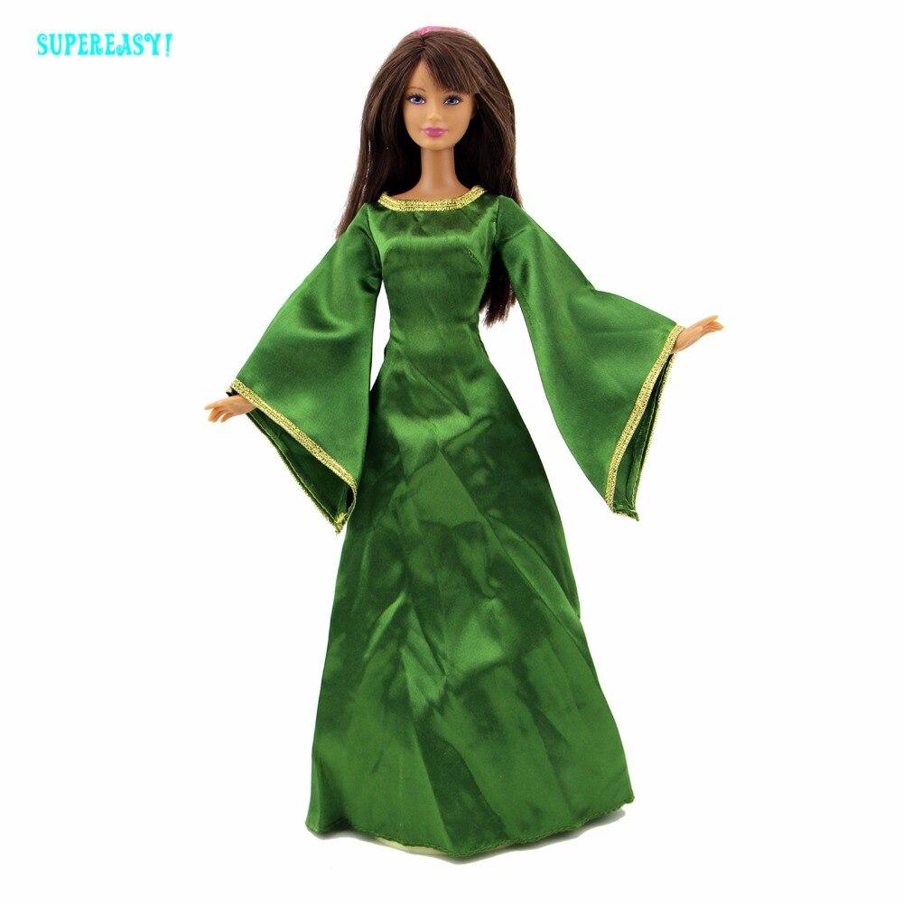 Экзотические Queen платье сказка костюм для Принцесса Мерида для мамы Одежда для куклы Барби FR Kurhn играть дома косплей малыш подарок