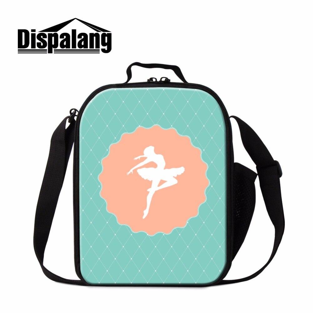 Dispalang трендовая термоизолированная сумка для обеда детей милая балетная девочек