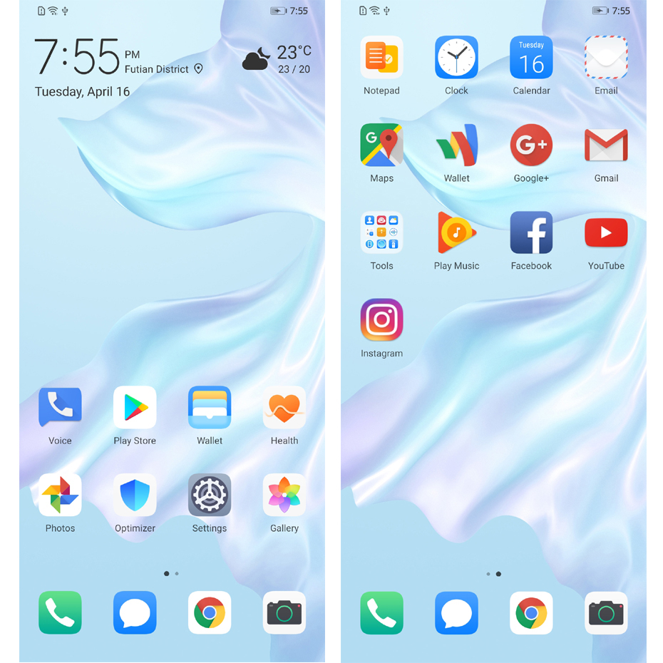 Téléphone portable d'origine Huawei P30 Pro Kirin 980 2.6GHz Android 9.1 6.47 ''OLED 2340X1080P IP68 NFC 4 caméras 40MP 50X Zoom numérique - 3