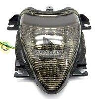 1pcs Smoke Lens Motorcycle Integrated LED Park Brake Tail Light Turn Signal Brake Light Fit For