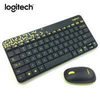 Logitech MK240 Nano Wireless Keyboard Mouse Combo Gaming Laptop Gamer Waterproof Ergonomics Mini Set