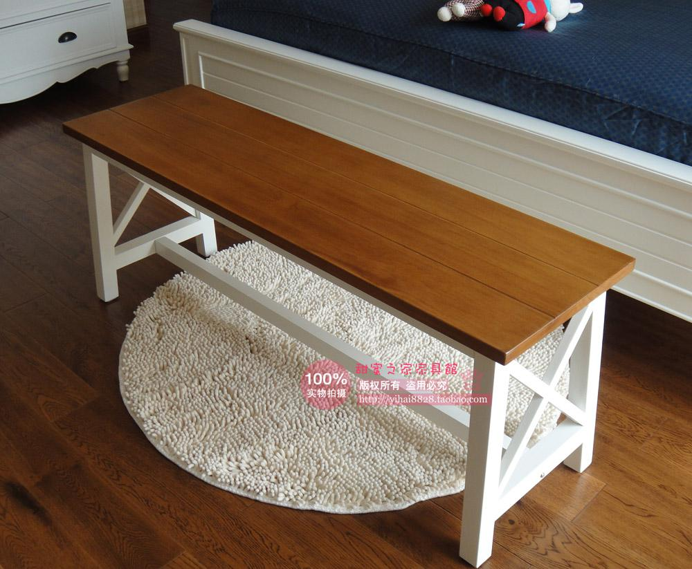 Online buy wholesale wooden bedroom bench from china wooden bedroom bench wholesalers - Table at the end of the bed ...