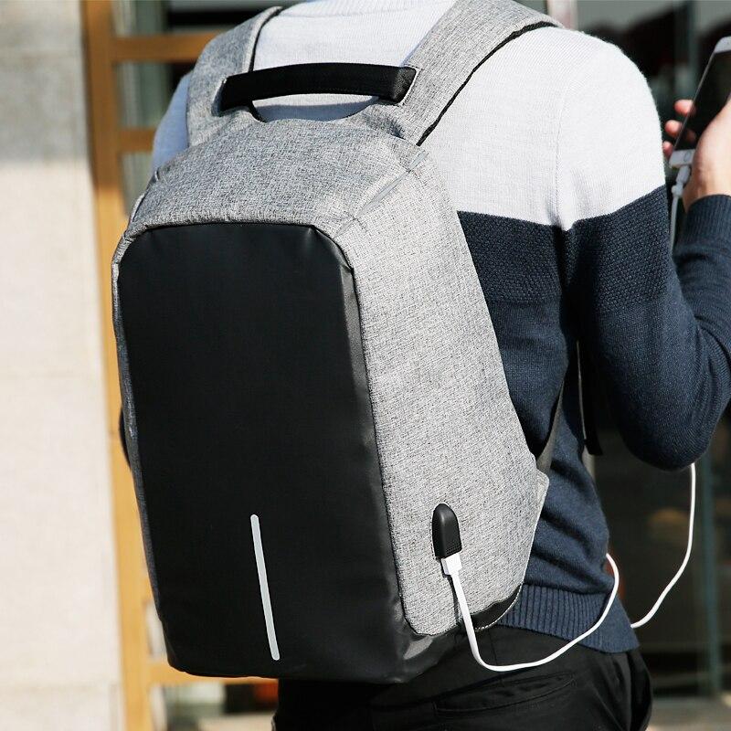 para adolescente moda masculina mochila Tipo de Mochila : Livro de Bolso