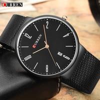 Sports Curren Mens Watches Top Brand Luxury Waterproof Sport Watch Men Ultra Thin Dial Quartz Watch
