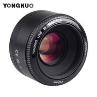 Yongnuo 50mm F1.8 Camera Lens For Canon EOS Cameras YN50mm F1.8N For Nikon D5300 D5200 Large Aperture Auto Focus Lenses