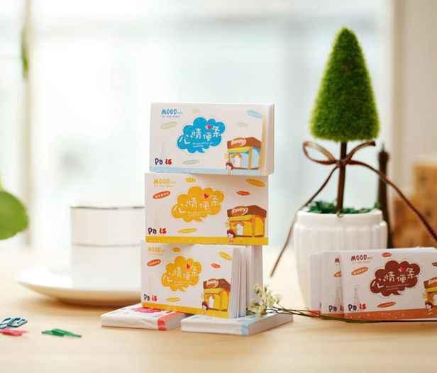 Memo pad Carino umore nota può strappare note questo piccolo giornata fresca cancelleria Coreana del commercio all'ingrosso 50 pagine
