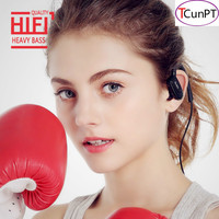 TCunPT New S5 Sports In Ear Wireless Bluetooth Earphone Stereo Earbuds Headset Bass Earphones With Mic