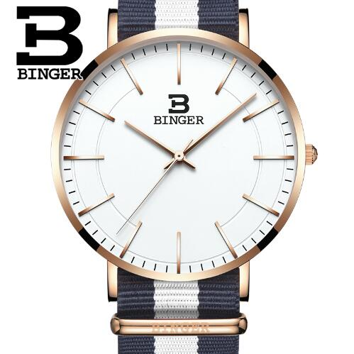 Binger Nylon Strap Watch Hot sale men Watch Unisex Hour Sports Military Quartz Wristwatch De Marca Fashion female male relojes binger nylon strap watch hot sale men watch unisex hour sports military quartz wristwatch de marca fashion female male relojes
