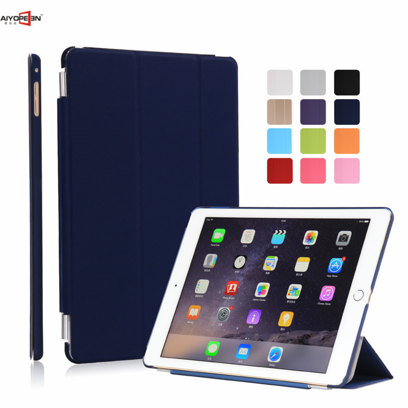 Case for iPad air 2,TPU Leather Front Cover Soft PC Back Auto Sleep magnetic Sturdy Stand Smart case for New iPad air 2 ipad 6 стоимость