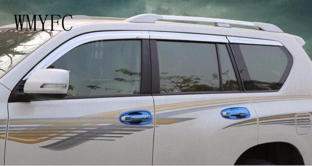 Fit For Toyota Prado 2010 2011 2012 2013 2014 2015 2016 2017 Rain Sun Visor  Window 1048b4599da