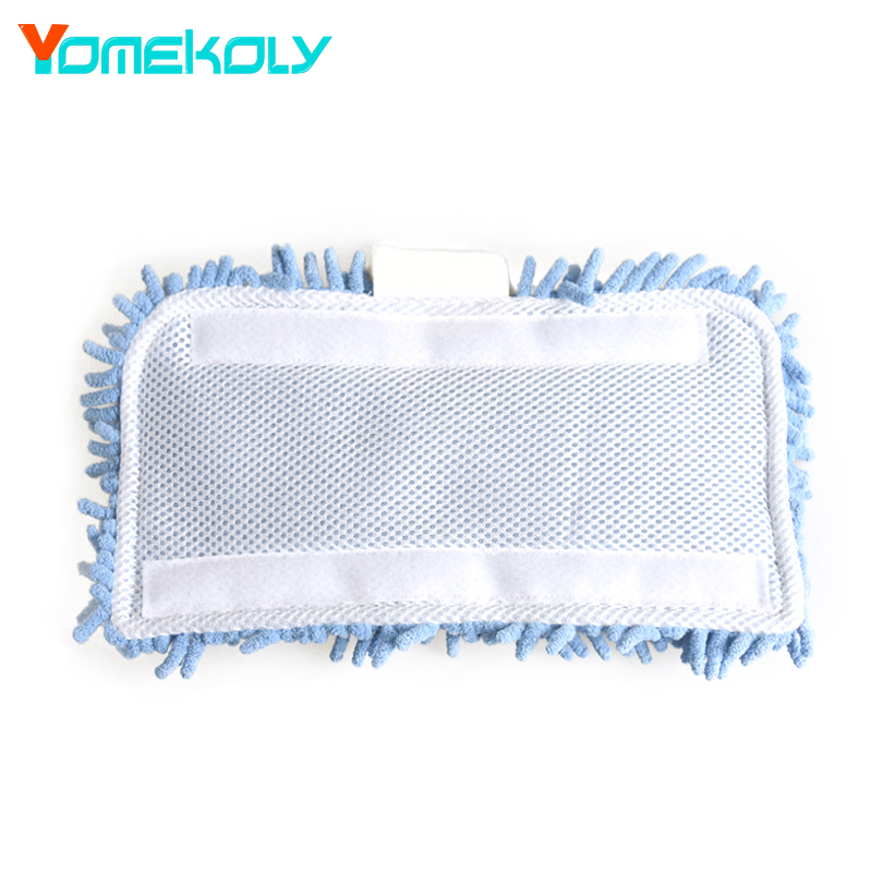 Steam Mop floor cleaning Microfiber Cloth Pads Cover for Water Mop 32*17cm Steam Mop Cloth cover For Black&Decker FSM1610/1630 4 pcs white microfibre steam mop cleaning floor washable replacement pads compatible for x5 h20 series dust cleaner part