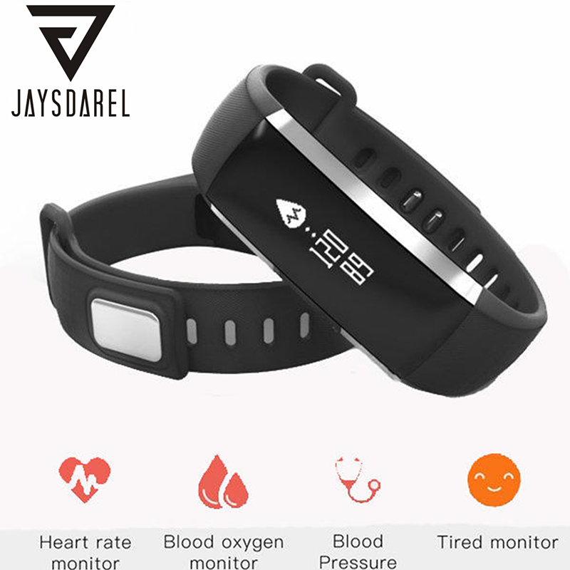 JAYSDAREL M2 Heart Rate Blood Pressure Monitor Smart Watch OLED Waterproof IP67 Smart Fitness Pedometer Bracelet for Android iOS jaysdarel heart rate blood pressure monitor smart watch no 1 gs8 sim card sms call bluetooth smart wristwatch for android ios