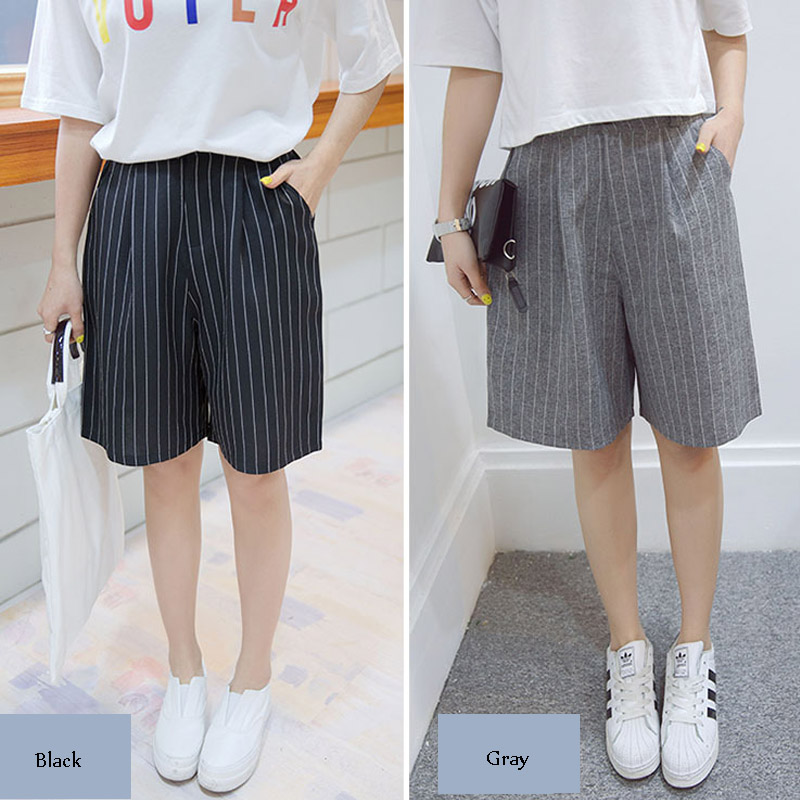Aliexpress.com : Buy Casual Loose Shorts Women Knee Length High ...