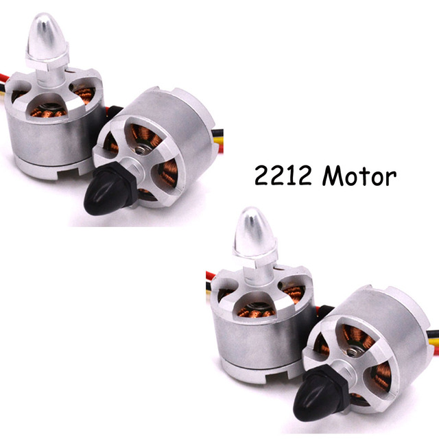 LHI 4pcs  2212 920kv Brushless Motor CW CCW Motors Black Sliver for F330 F450 F550 FPV Quadcopter Multicopter of RC part