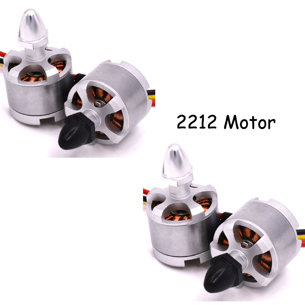 LHI 4pcs 2212 920kv Brushless Motor CW CCW Motors Black Sliver for F330 F450 F550 FPV Quadcopter Multicopter of RC part image