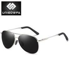 65533069d9 UNIEOWFA piloto HD polarizado gafas de sol hombres aviación espejo azul  deportes gafas de hombre Polaroid gafas de sol para homb.