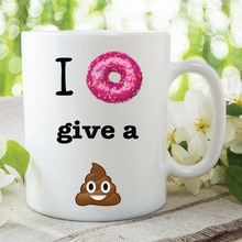 Donut becher witz Kaffee tassen Tassen abziehbild wein mugen whisky bier keramik becher