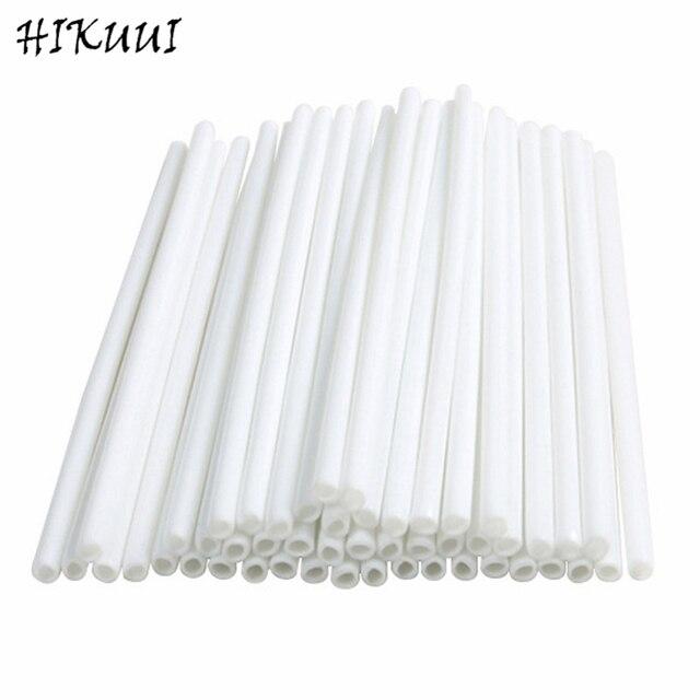 100 pz/pacco 15 centimetri di Sicurezza In Plastica Lollipop Stick Dolce Pop Spi