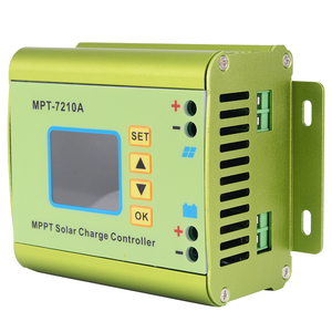 LCD Display MPT-7210A MPPT Solar Panel Charge Controller 24/36/48/60/72V Boost Solar Battery Controllers(China)