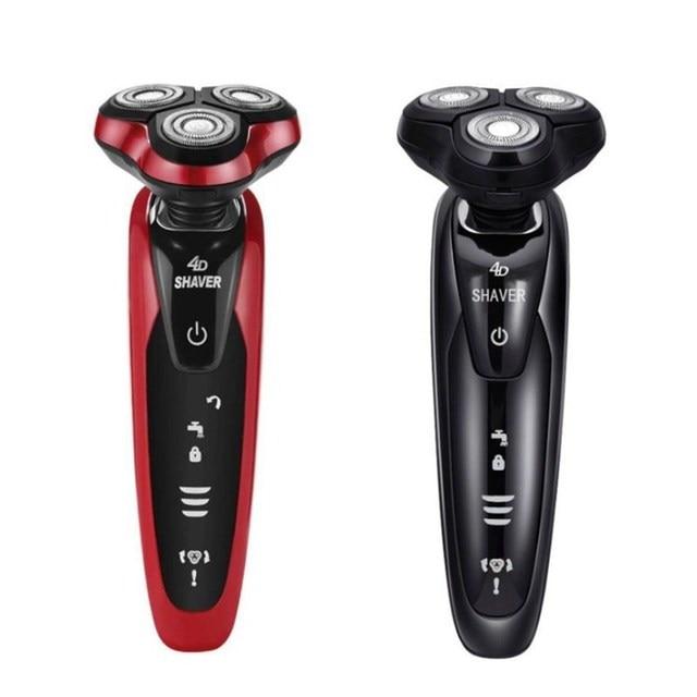 4D floating razor electric car USB rechargeable multi function body wash beard knife razor