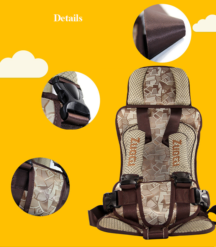 1 Piece Child Safety Car Seats Thickening 0 - 4 Years Baby Car Seat baby auto cushion fashion vehicle-use child safety seats