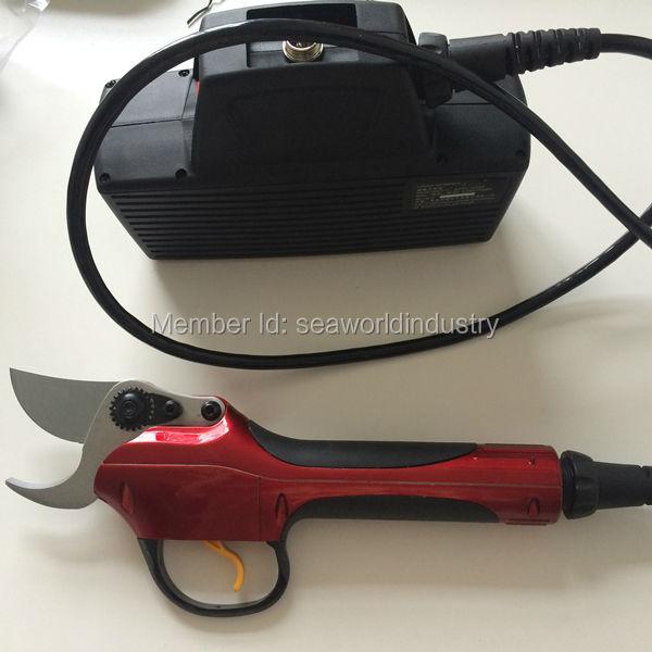 WSP-1 Электрический секатор (полный набор инструментов из секаторы для виноградник и садов), электрические ножницы, электрический секатор