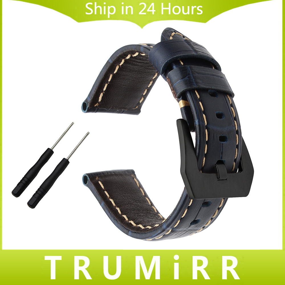 Italian Leather Watchband 20/22/24/26mm for Garmin Fenix 3/HR/5X/5S/5/Vivoactive HR/Forerunner 935/Epix Watch Band Wrist Strap 22mm width nylon strap for garmin fenix 5 band outdoor sport watchband with quick fit for garmin fenix 5 replace wrist band