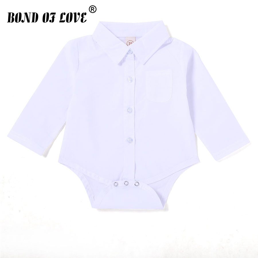 Toddler Newborn Clothing Baby Boys Girls Solid Shirt Bodysuit