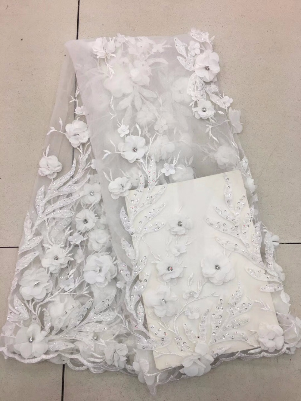 white Best Selling French Lace Fabric 2018 High Quality Lace Net African Lace Fabric With sequins Lace Fabrics For Weddingwhite Best Selling French Lace Fabric 2018 High Quality Lace Net African Lace Fabric With sequins Lace Fabrics For Wedding