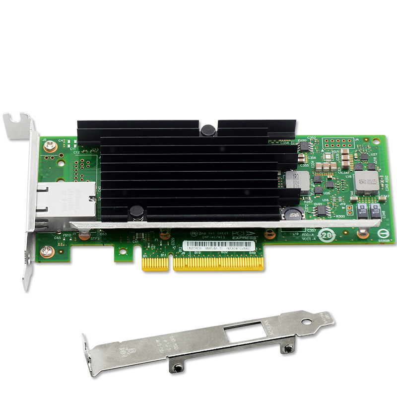 все цены на  10G 10-Gigabit Ethernet Network Adapter PCIe Controller Card Low Profile Bracket  онлайн