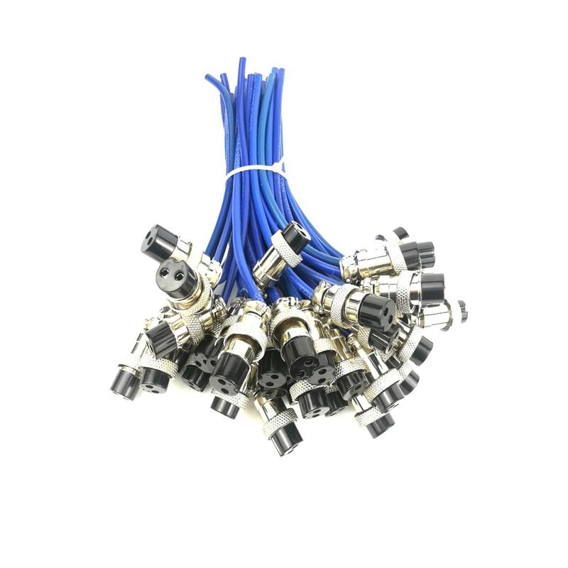 Купить с кэшбэком Free Shipping 1 Piece  Argon Arc Welding Machine Aviation Joint Fast Power Plug Welding Gun Accessories Universal Two-core Joint