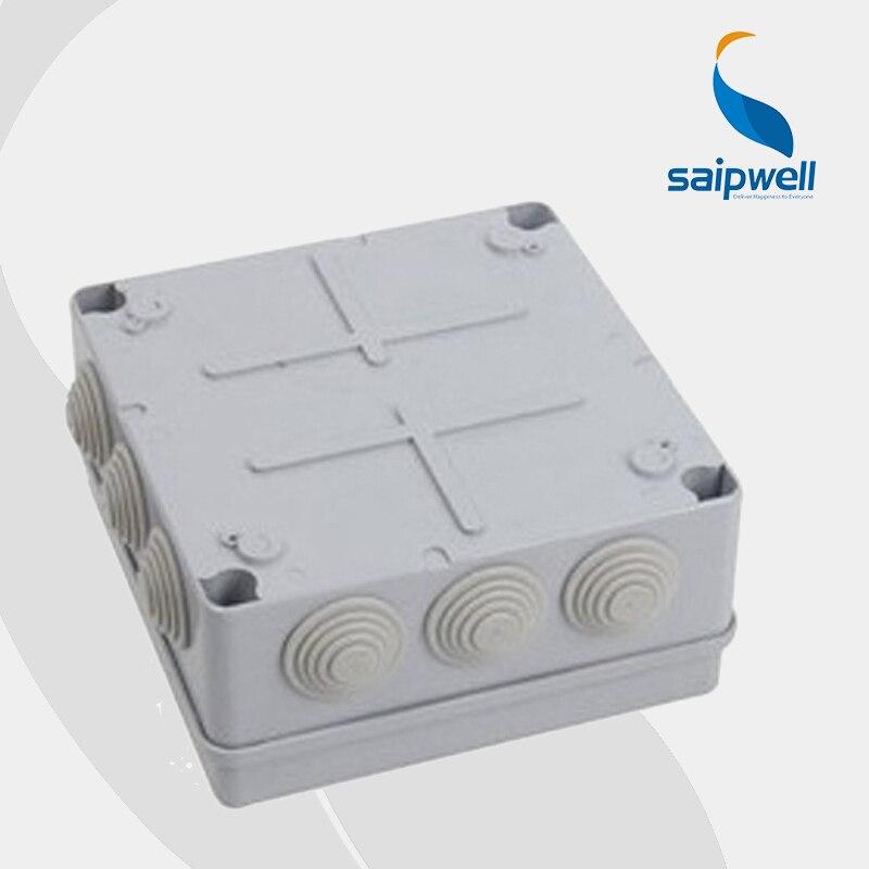 waterproof plastic ABS enclosure junction box 120 120 60mm SP 02 121260