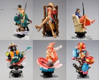 one piece luffy zoro robin Shirahoshi FRANKY BROOK model pvc action figure classic collection toy doll