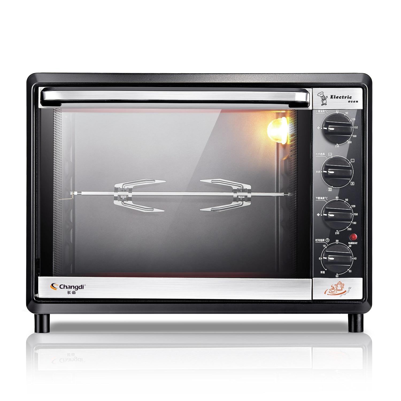 Four électrique avec Double porte en verre pour la cuisson domestique multifonction cuisson gâteau Pizza poulet capacité 32L nettoyage facile