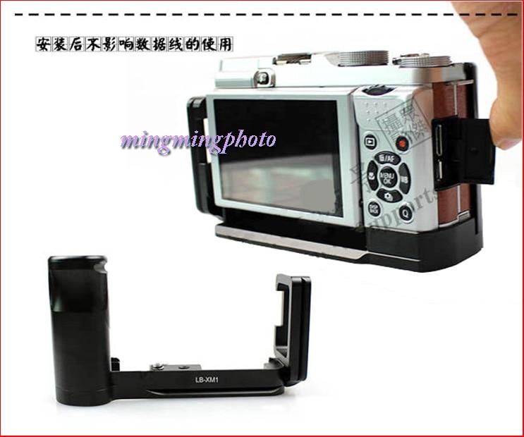 LB-XM1 Vertical Quick Release L Placa / soporte Holder Grip para Fuji - Cámara y foto