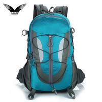 Unisex Outdoor Bag Traveling Camping Backpack Men Women Softback Mountaineering Hiking Backpacks 30L Capacity Sports Bags