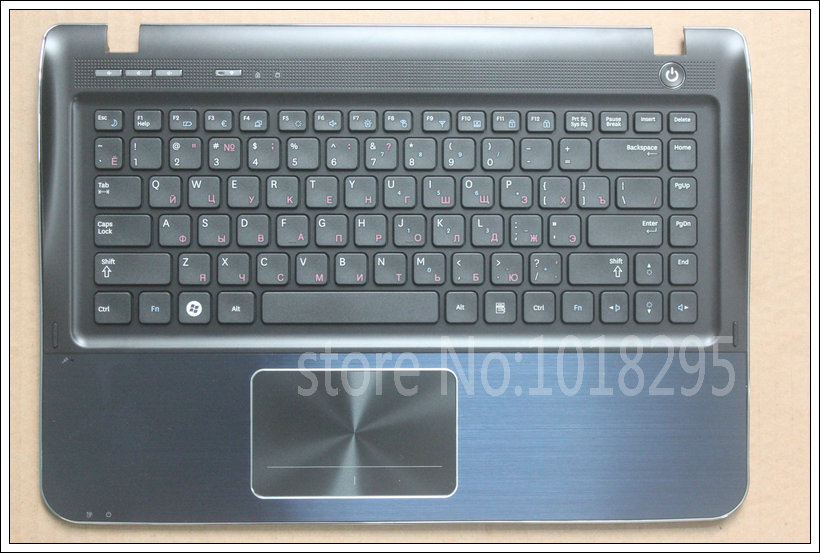 Russian New Laptop Keyboard for SAMSUNG NP-SF410 NP-SF411 SF410 RU Keyboard Shell Palmrest Cover new notebook laptop keyboard for samsung np rf510 rf511 russian spanish layout