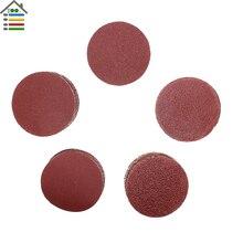 2 inch 50 mm Sander Disc Sanding Polishing 60 80 120 150 180 240 320 400 600 Grit fit for Dremel 4000 3000